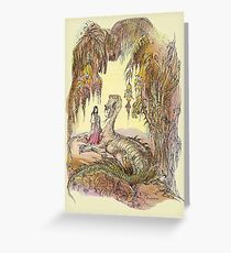 Dragon Cave - Fairytale Collection Greeting Card