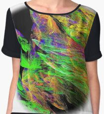 Totally Abstract Chiffon Top