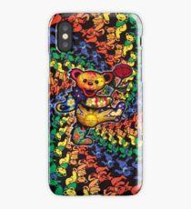 3D grateful dead dancing bears iPhone Case/Skin