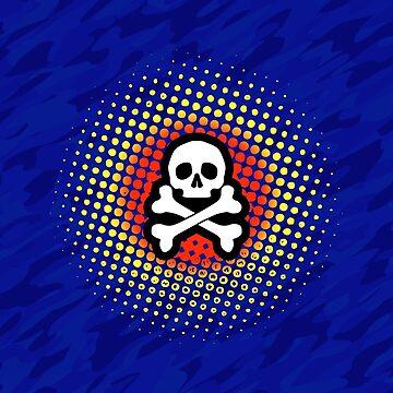 skull n crossbones by SquareGoTshirts