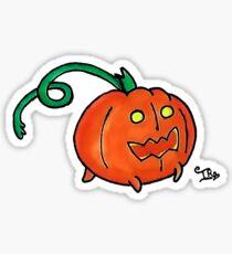 Pumpkin Pattern Sticker