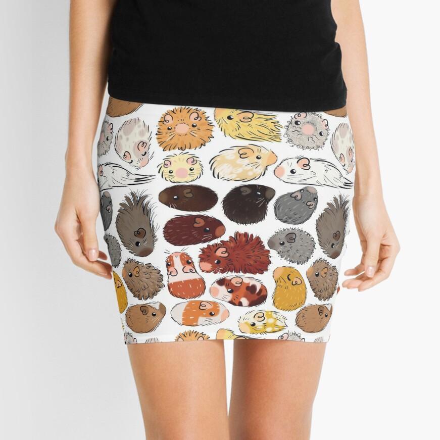 Guinea Pig Gradient Mini Skirt