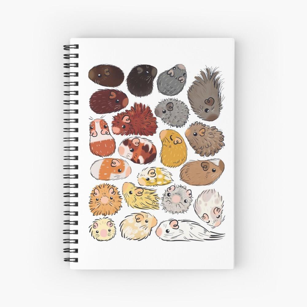 Guinea Pig Gradient Spiral Notebook