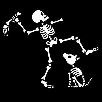 Go fetch bone dog skeleton arm hand by LaundryFactory