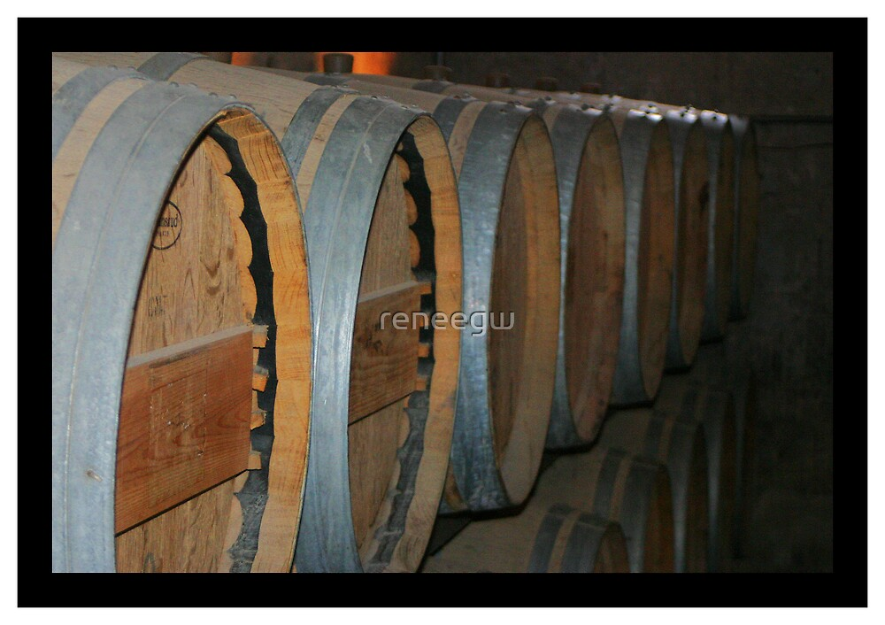 Wine Barrels by reneegw
