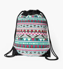Retro Tribal Pattern Drawstring Bag