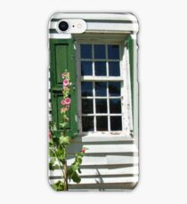 Green Shutters With A History iPhone Case/Skin