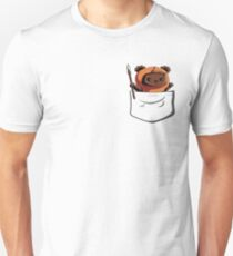 Ewok In A Pocket Cute Adorable and Protective Don't Get Too Close Unisex T-Shirt