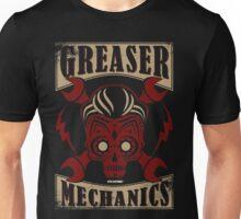 Rockabilly Greaser Mechanics Vintage Design   Classic Unisex T-Shirt