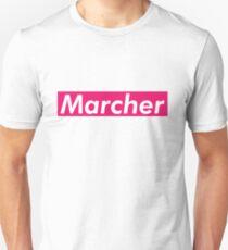 Marcher Supreme Box Logo Parody Unisex T-Shirt