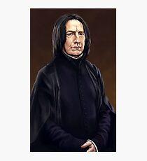 Professor Severus Snape Photographic Print