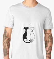 Loving cats Men's Premium T-Shirt