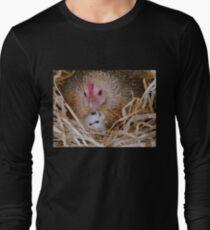 My Little Fluff Ball   Hen U0026 Chick NZ Long Sleeve T Shirt