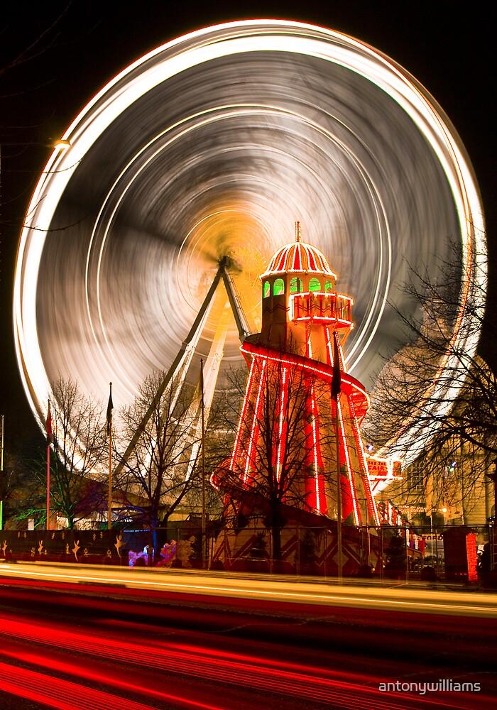Big Wheel at Cardiff Winter Wonderland by antonywilliams