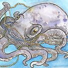 Pearly Octopus by lysswhitart