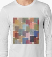 Mid Century Modern Squares Long Sleeve T-Shirt