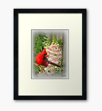 THE BEAUTY THAT LIES WITHING Framed Print