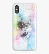 Colorful Wolf iPhone Case/Skin