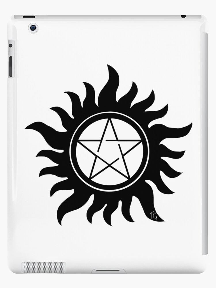 Anti Possession Symbol Supernatural Ipad Cases Skins By