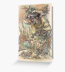 Giant fairytale collection Greeting Card