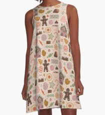 In the Land of Sweets A-Line Dress