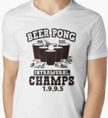 Beer Pong Champ 1995  Men's V-Neck T-Shirt