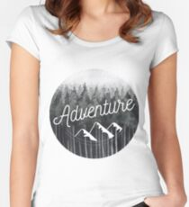 Adventure Woods Women's Fitted Scoop T-Shirt