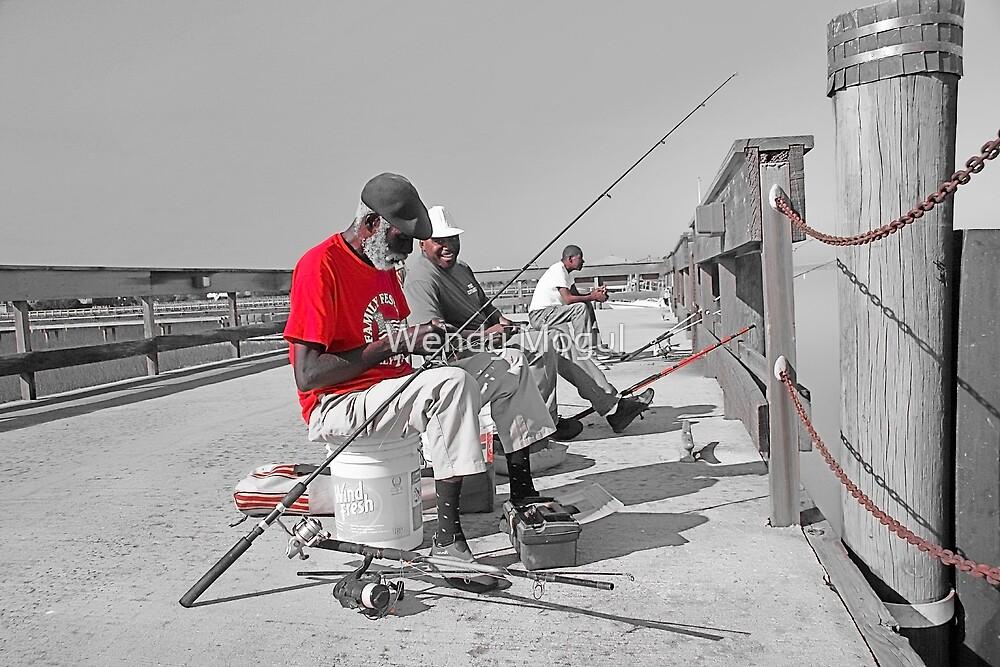 Fisherman Two by Wendy Mogul