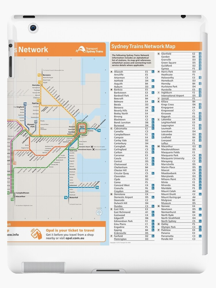 Sydney Trains Network Map - Australia\