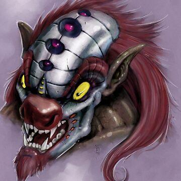Retro killer Clown by ARTofMistyrE