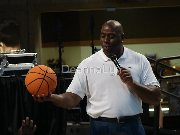 Magic Johnson by DeannaLyn