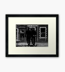 Beat Cops - Blackburn a Town and Its People Framed Print