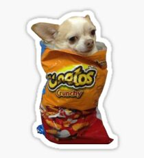 Cheeto Dog Sticker