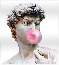 Bubblegum Statue Poster