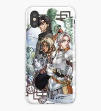 Suikoden III Cover Design iPhone Case/Skin
