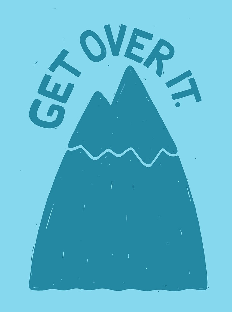 GET OVER /T by Dylan Morang
