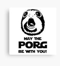 May The PORG Be With You! Canvas Print