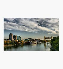 Sacramento Waterfront Photographic Print