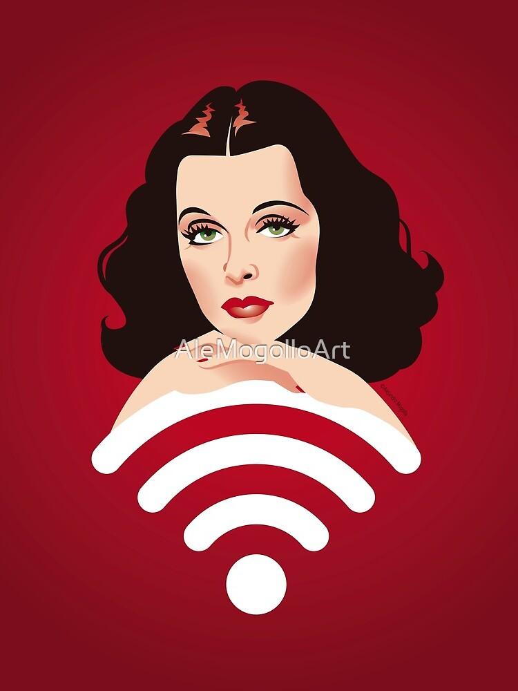 Hedy Wifi by AleMogolloArt
