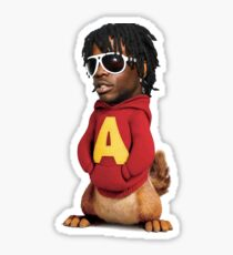 Chief Keef and the Chipmunks Sticker