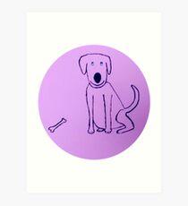 Dog - Chien - Martin Boisvert Impression artistique