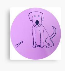 Dog - Chien - Martin Boisvert Impression métallique