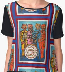 Sgt. Peppers Lonely Cats Club Band Chiffon Top
