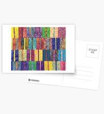 Ethnic Mexican Boho Seamless Pattern - Tribal art print Postcards