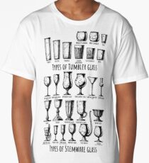 Types of glass Long T-Shirt