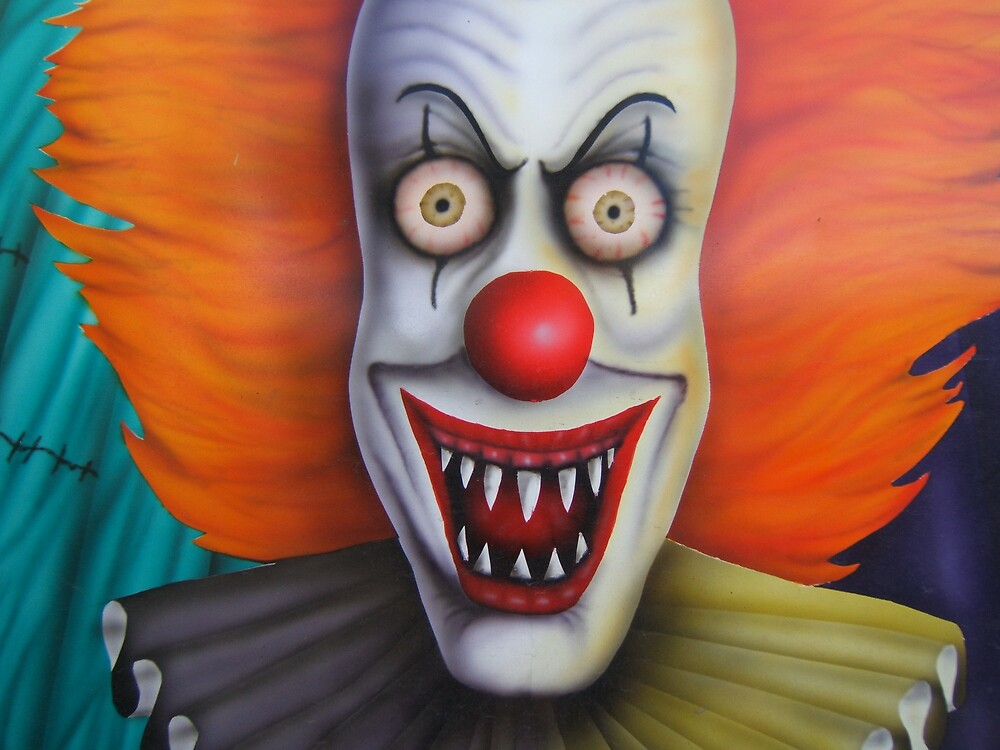 Evil Clown 2 by cbeasley