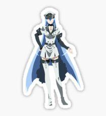 Akame ga Kill! - Esdeath Minimalist Sticker