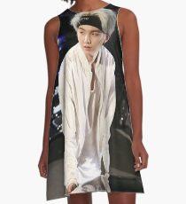 BTS SUGA A-Linien Kleid