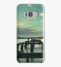 Fahan Pier at sunrise Samsung Galaxy Case/Skin