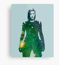 Starbuck - Battlestar Galactica Metal Print